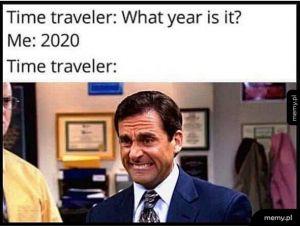 Podróżnik w czasie...