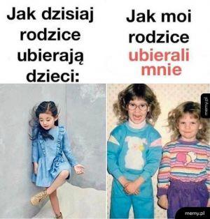 Ubieranie dzieci