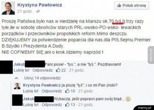Pawłowicz vs ortografia