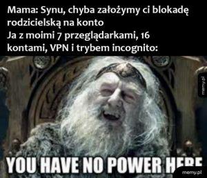 Nie masz mocy