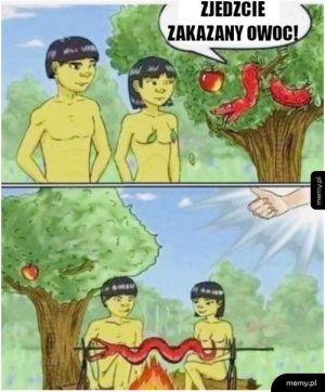 Gdyby Adam i Ewa byli Chińczykami