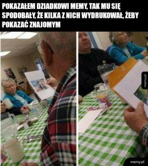 Dziadek i memy