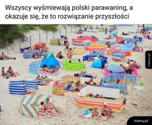 Parawaning