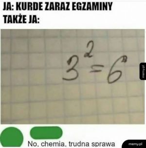Zaraz egzaminy