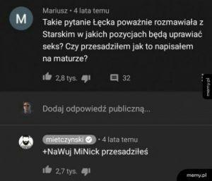 Lektury z Mietczyńskim