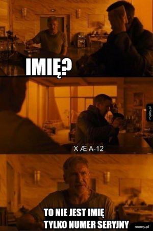 Hej nazywam się X ae a 12