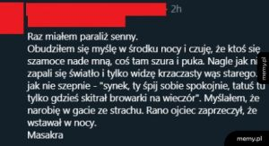 Senny paraliż