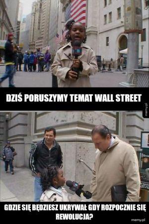 Temat Wall Street