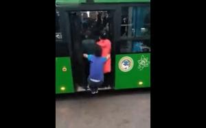 Poranek w autobusie