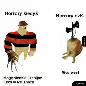 Horory kiedyś i dziś