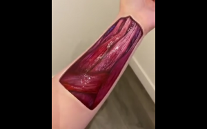 Realistyczny body painting