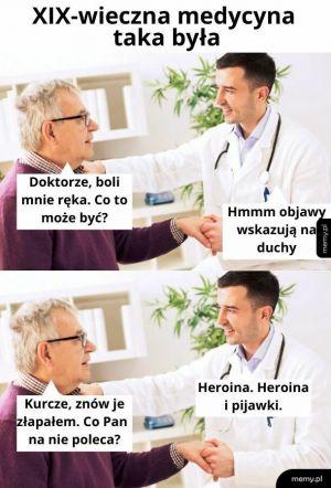 Przed zażyciem leku skonsultuj się z lekarzem lub starą babą, co zna się na ziołach