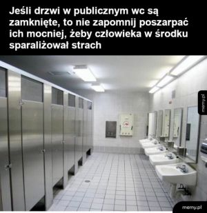 Drzwi do wc