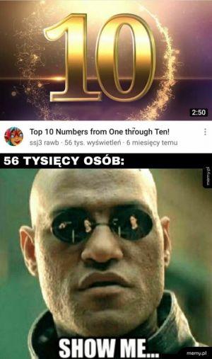 Dziesięć...