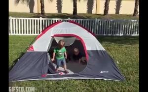 Namioty nie mają litości.