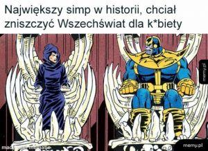 Thanos i Śmierć
