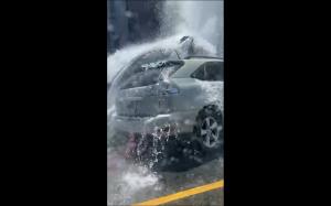 Uderzenie w hydrant