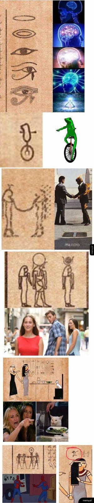 Staroegipskie memy