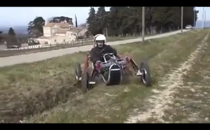 Ciekawy pojazd