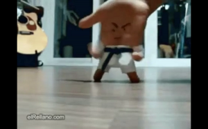 Karate hand