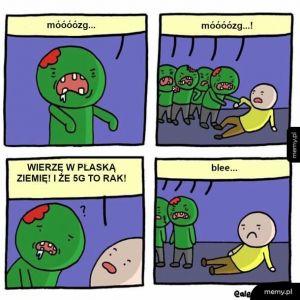 Zombie chcą mózgi