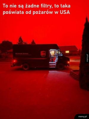 Oregon w ogniu