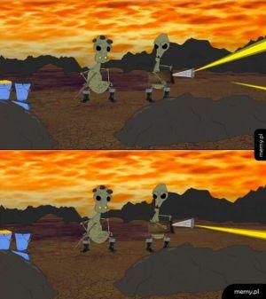 Kapitan Bomba 12 klatek (orginał) vs 60 klatek