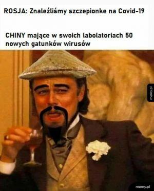 Szczepionka vs Chiny