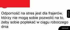 Odporność na stres