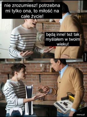 Kłótnia taty z synem