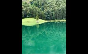 Bajkowy krajobraz w Szwajcarii