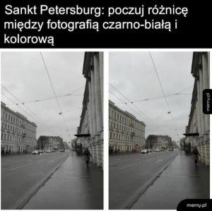 Piękna malownicza Rosja