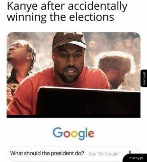Po przeliczeniu głosów wyjdzie na korzyść Kanye