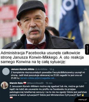Facebook Korwina