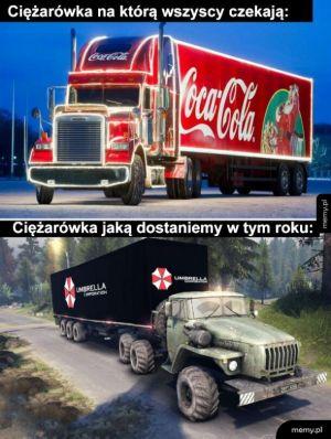 Ciężarówka na święta