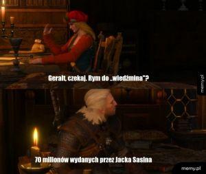 Geralt poeta