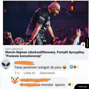 Minister sportu