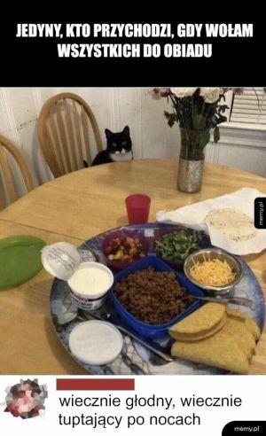 Obiad podano...