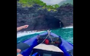 Jaskinia na Hawajach