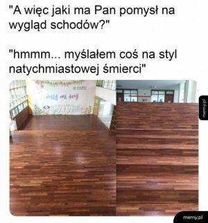 Świetne schody