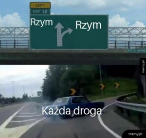 Droga do Rzymu