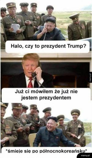 Prezydent Trump