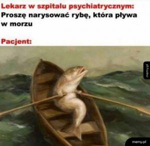 Ryba co pływa