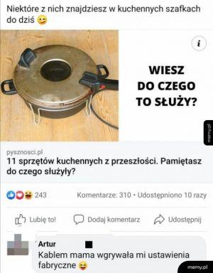Sprzęty kuchenne