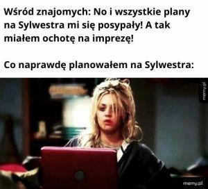 Plany na Sylwestra