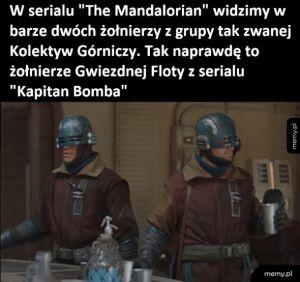 Żołnierze w Mandalorian
