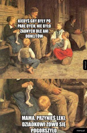 Gry kiedyś