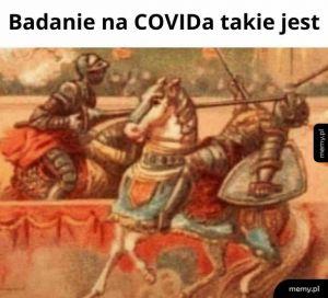 Badanie na COVIDa