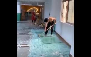 Tak się rozbija szkło