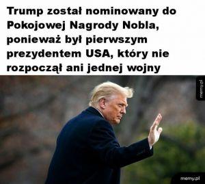 Nobel dla Trumpa